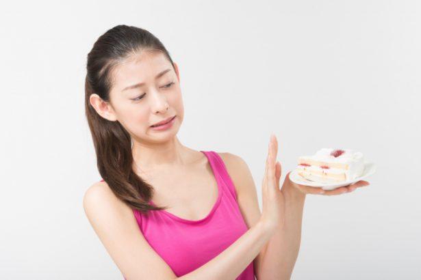 ダイエットで我慢はNG。ガマンではなく節制(摂生)が大事